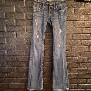 Miss Me Distressed jeans size 26